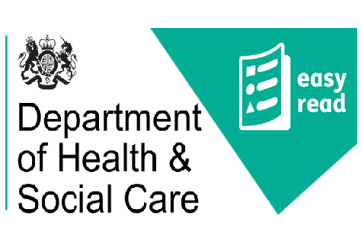 department of health & social care easy read logo