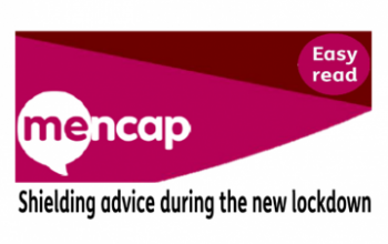 mencap shielding advice logo