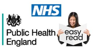 public health england & nhs logo