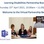 Virtual Partnership Board Presentation 15th April 2021