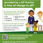 GP Registration Poster