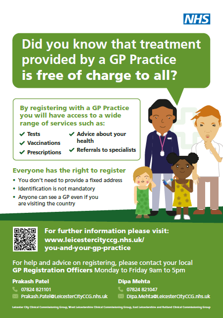 GP Registration Poster